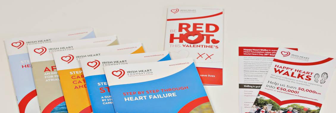 Irish Heart Foundation Brochures
